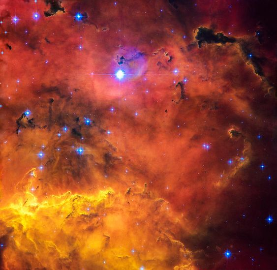 Space image: Cosmic concoction, nebula with stunning ...