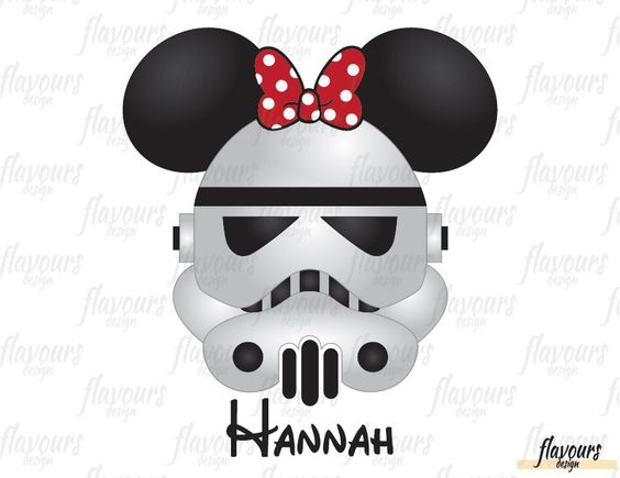 Minnie Stormtrooper - Minnie Ears Inspired - Star Wars - Disney Iron On Transfer - DIY Disney Shirts - INSTANT DOWNLOAD by FlavoursStore on Etsy https://www.etsy.com/listing/489840708/minnie-stormtrooper-minnie-ears-inspired