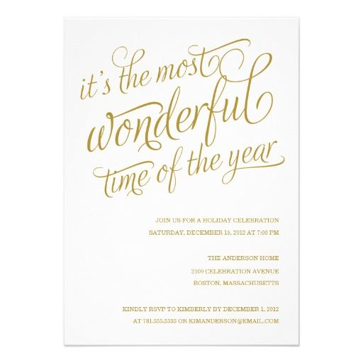 Christmas Party Invitation, Company Holiday Party Invitation Party - holiday party invitation