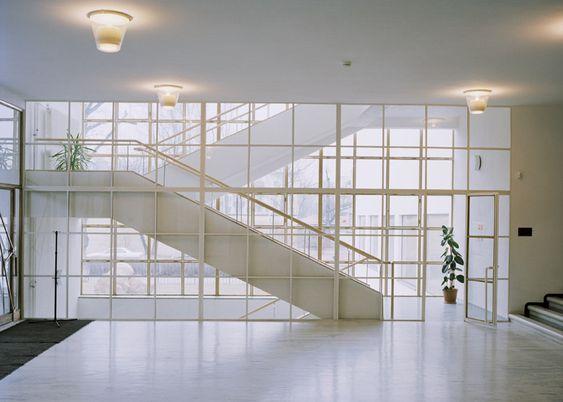 Vitra Design Museum hosts Alvar Aalto retrospective - iipuri (Vyborg) City Library, Vyborg, Karelia (today Russia), 1927-1935.