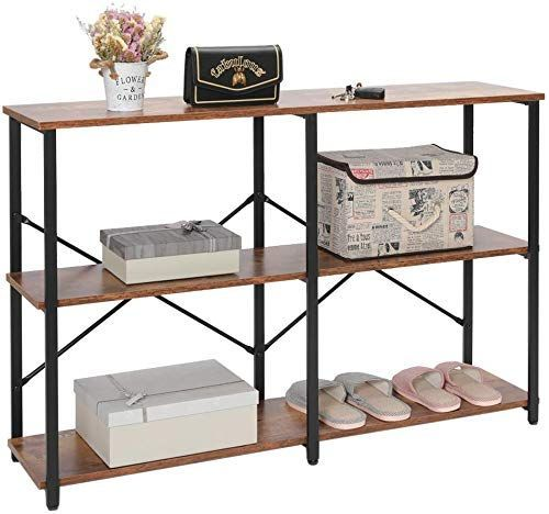 Amazing Offer On Iwell Industrial 3 Tier Console Table Sofa Table