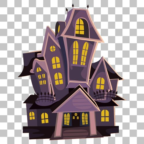 Haunted House Png Image With Transparent Background Haunted House Png Images Transparent Background