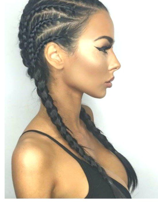 30 Badass Boxer Braids You Need To Try Braids Hair Styles Hair 30 Beaut White Girl Braids Hair Styles Curly Hair Styles