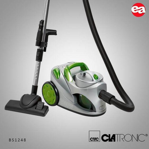 Comodidad y practicidad a la hora de limpiar tu hogar,oficina,etc.. Aspirador CLATRONIC BS1248 Verde http://bit.ly/1q2lCHv #Electroactivate #Elmejorprecio #Aspirador #Hogar #Electrodomestico