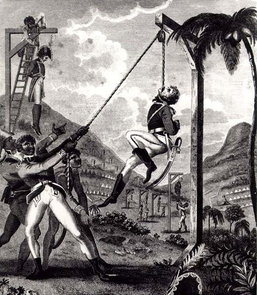 The Haitian Revolution, a SLAVE uprising, frightened even those most sympathetic to revolutionary idealism. Thomas Jefferson himself refused to acknowledge its legitimacy.