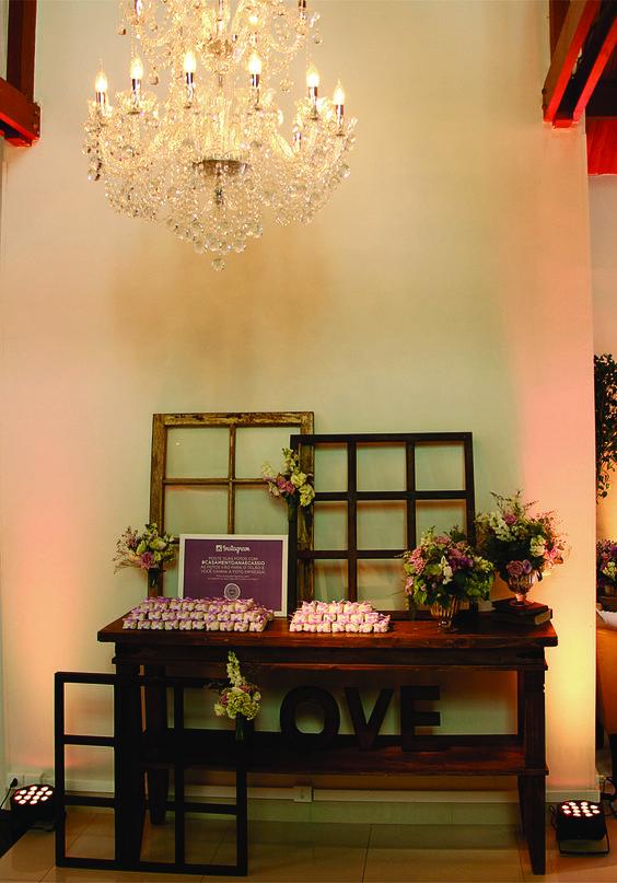 Janelas na decoração do casamento!
