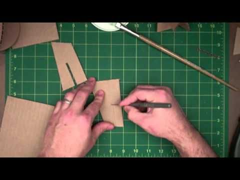 Fantastic techniques on how to stick pieces of cardboard together so they stay!