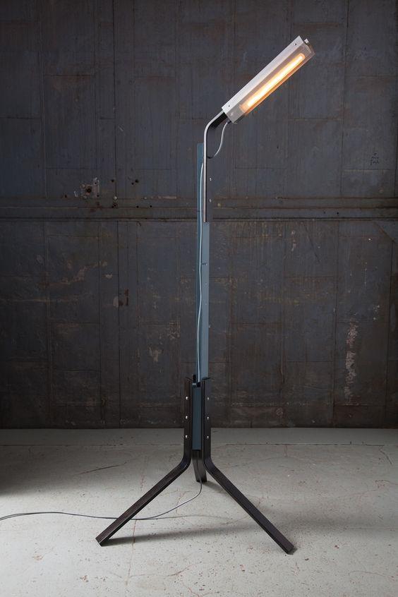 Tangerine High Gloss Ceramic Lamp