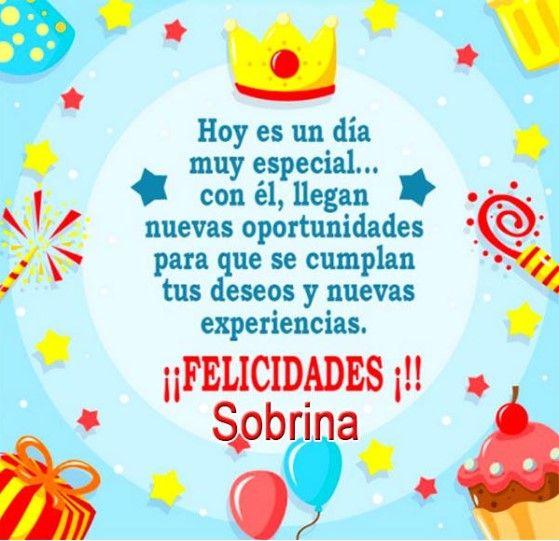 Tarjetas De Cumpleaños Para Una Sobrina Que Esta Lejos Feliz Cumpleaños Sobrino Tarjeta Feliz Cumpleaños Sobrina Cumpleaños Sobrina
