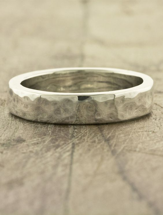 unique customized rustic wedding rings for him def an outdoorsy kinda guy weddings u things pinterest - Rustic Wedding Rings