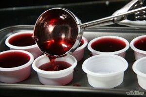 Another party favorite! These shots are a huge party favorite. Perfect jello shots for a party filled with men. Warning: these are strong and you can really tas