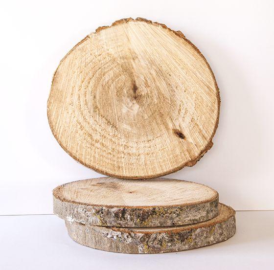 Comprar rodajas de madera dys con ramas y troncos for Mesas de troncos de madera