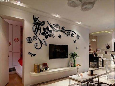 افكار حيل و ديكورات سهلة انا متأكدة انها ستسهل حياتك اليومية Youtube Living Room Designs Home Deco Tv Wall Unit