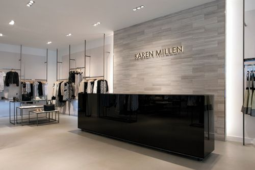 Project karen millen retail focus retail interior for Retail interior designers in london