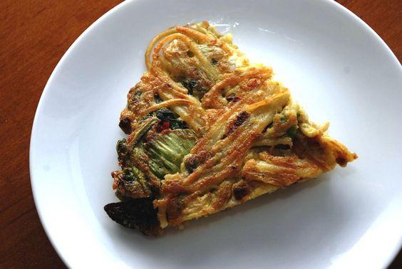 Pasta Frittata from Food Republic (http://punchfork.com/recipe/Pasta-Frittata-Food-Republic)