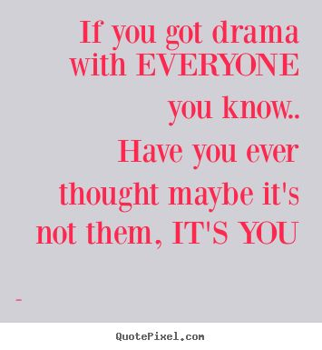 How do you focus on school and work and not the friends, and drama?
