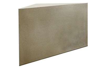 Large Triangle Shower Bench