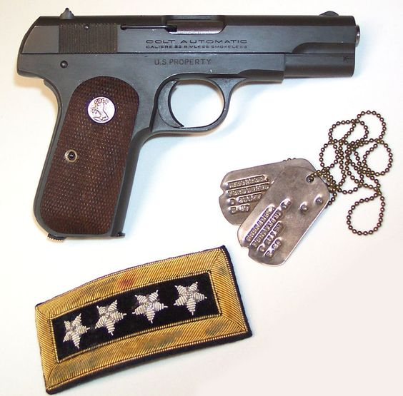 Colt 1903 Pocket Hammerless .32 ACP Military Pistol Issued