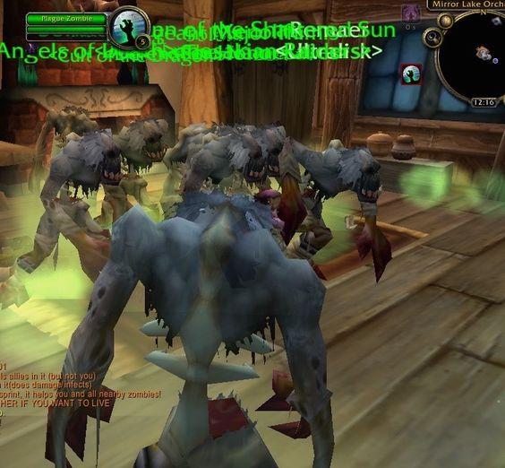 World of Warcraft Zombie Warcraft Horde