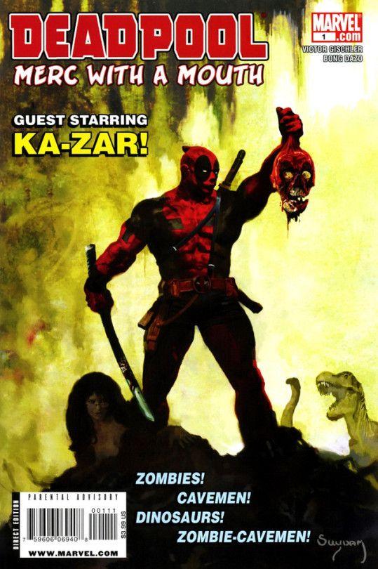 Deadpool 1 Marvel Comics Deadpool Comics Marvel Comics