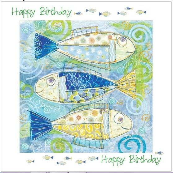 Fish themed Birthday cards to buy visit our website – Website for Birthday Cards
