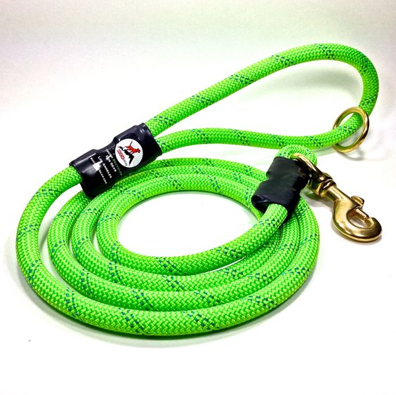 6' Ajustable length, Colorful, Up-Cycled Rock Climbing Rope  Dog Leash by RockDogLA on Etsy https://www.etsy.com/listing/251904348/6-ajustable-length-colorful-up-cycled