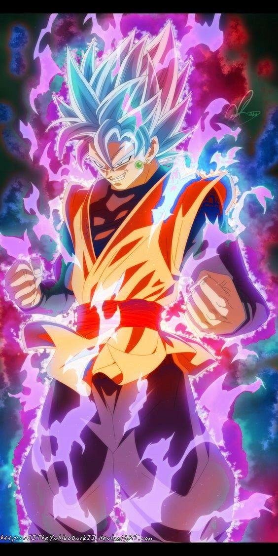 Black Goku Rose Blue Anime Dragon Ball Super Dragon Ball Super Manga Dragon Ball Wallpapers