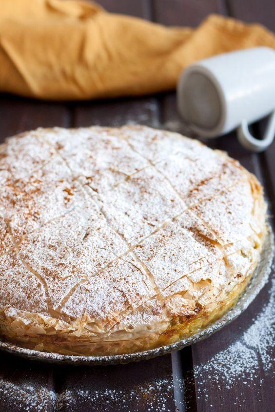 Chicken Pie (B'stilla/Bastilla) | Recipe | Moroccan chicken, Pies ...