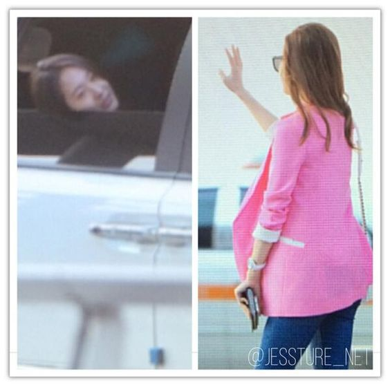 Jessica Krystal SNSD Airport March 2014
