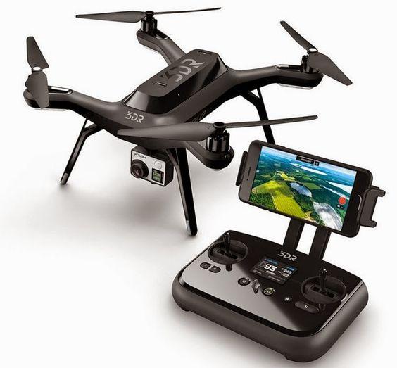 3DR Robotic Solo Quad Copter Smart Drone Ft's Aerial Imaging Specific Flight Modes - @aviatrek https://twitter.com/aviatrek and on Pinterest - UAV Drone Group International https://www.pinterest.com/uavdronegroup/