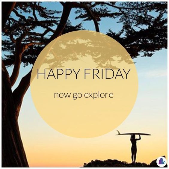 Happy Friday! ☀️ #friday #tgif #goexplore #ocean #beach #surf #lovesurf #lovesurflife