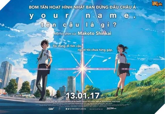 ten cau la gi? Your Name Thuyết Minh HD