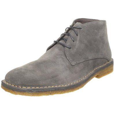 Johnston & Murphy Men's Runnell Chukka Boot - Dark Gray - 110-135 dollars