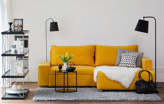 splash of colour - living room | FASHION FOR HOME