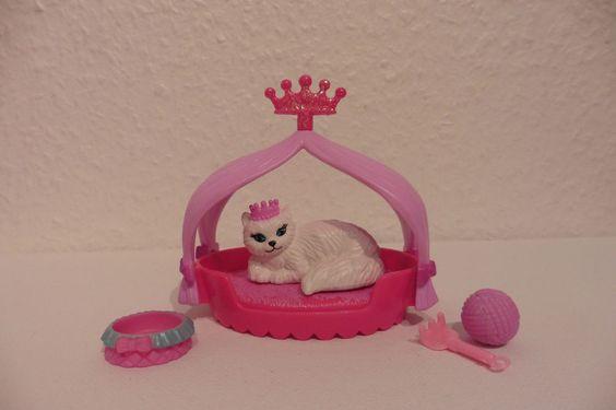 Barbie Sammlung Auflösung= Katze = Prinzessin = Tier  =Zubehör =