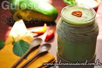 Já sem ideias de novos molhos? Esta dica é super leve e saudável esta Maionese de Abacate vai incrementar a sua salada ou sanduíche!  #Receita aqui: http://www.gulosoesaudavel.com.br/2013/05/15/maionese-abacate/