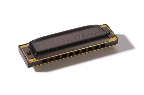 Hohner Pro Harp – Armónica en clave de Sol -  http://tienda.casuarios.com/hohner-pro-harp-armonica-en-clave-de-sol/