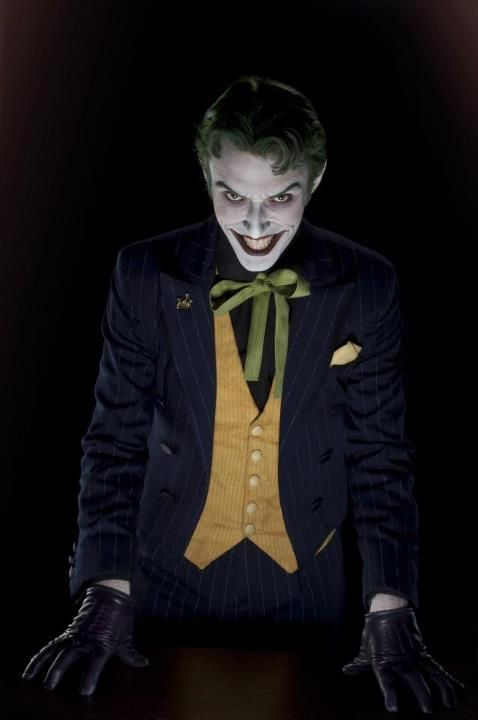 The Joker by cosplayer Anthony Misiano: