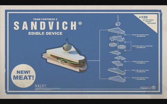 """""""Heavy"""" Sandwich"""