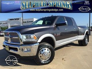 Get all the power you need with this 2015 Ram 3500 Laramie! The Luxe is on the inside! 903-885-2600!