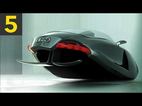 Top 5 Concept Cars Of The Future Youtube Flying Car Audi