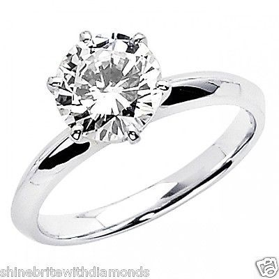 1.25 Ct Round Cut Solitaire Engagement Wedding Promise Ring Solid 14K White Gold https://t.co/JyRLnvfrC0 https://t.co/Jdz7NFvXAe