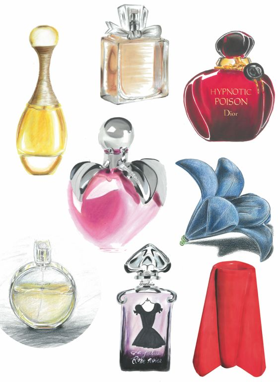 Ecole Com'Art - Arts appliqués Design Graphique - Rough Parfum - http://www.comart-design.com/fr/formations/manaa-prepa - #design #draw #graphicstudent #drawing #graphicdesigner #rough #parfum #lancome #guerlain #dior