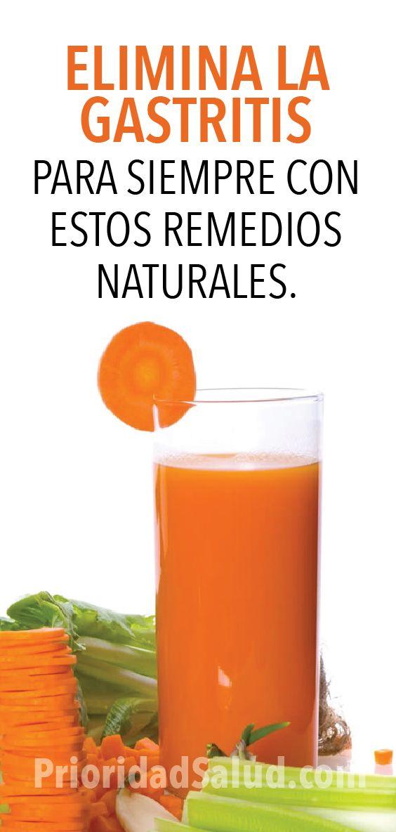remedio natural para la gastritis cronica