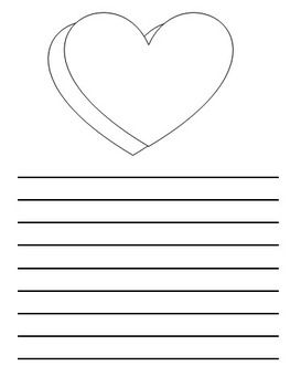 "Descriptive Writing: ""Design a Conversation Heart"" Template"