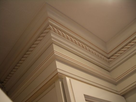 Antique Paint Diamond Cabinets And Moldings On Pinterest
