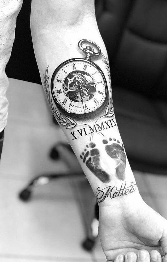 Top 5 Trendy Armband Stile Von 2019 In 2020 Hand Tattoos For Guys Tattoos For Daughters Baby Hand Tattoo