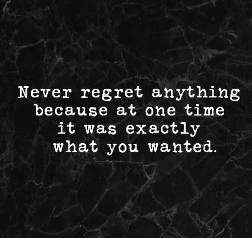 85 Never Regret Quotes And Sayings To Inspire You The Random Vibez Regret Quotes Never Regret Quotes True Quotes