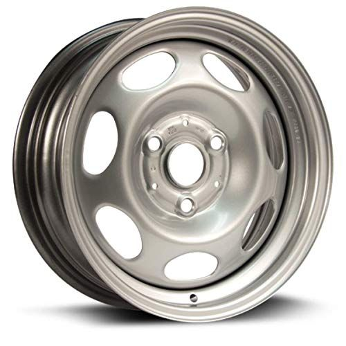 New 15 3 Lug Silver Steel Wheel Fits Smart Car Front 2008 20014 We80258n Car Front Automotive Steel Wheels