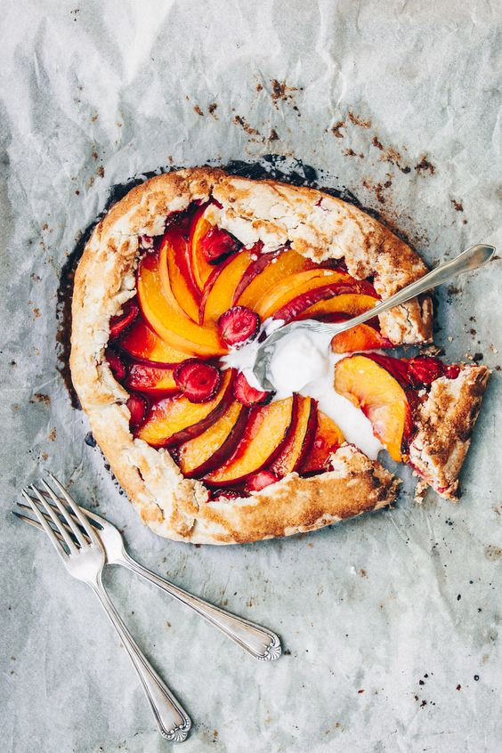 Peach and Strawberry 3 Ways - 3 different recipes with peaches and strawberries…